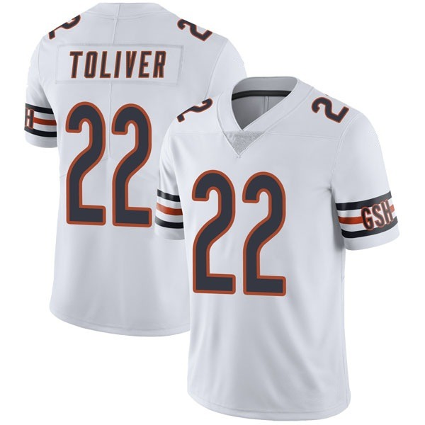Kevin Toliver Chicago Bears Limited White Vapor Untouchable Jersey