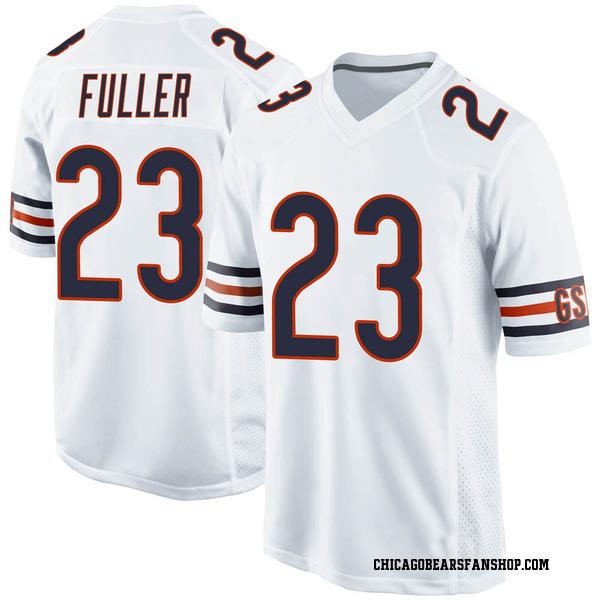 Kyle Fuller Chicago Bears Game White Jersey
