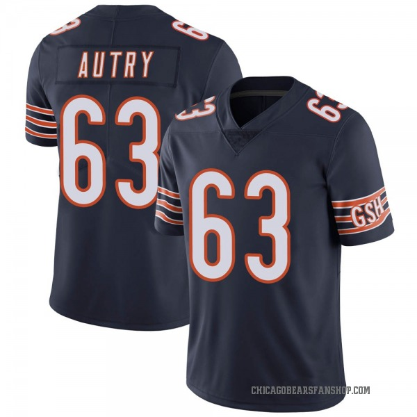 Lee Autry Chicago Bears Limited Navy Team Color Vapor Untouchable Jersey