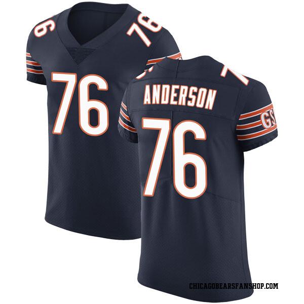 Men's Abdullah Anderson Chicago Bears Elite Navy Team Color Vapor Untouchable Jersey