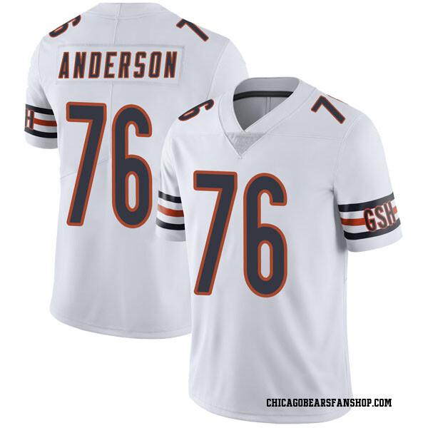 Men's Abdullah Anderson Chicago Bears Limited White Vapor Untouchable Jersey