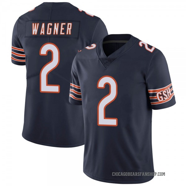 Men's Ahmad Wagner Chicago Bears Limited Navy Team Color Vapor Untouchable Jersey