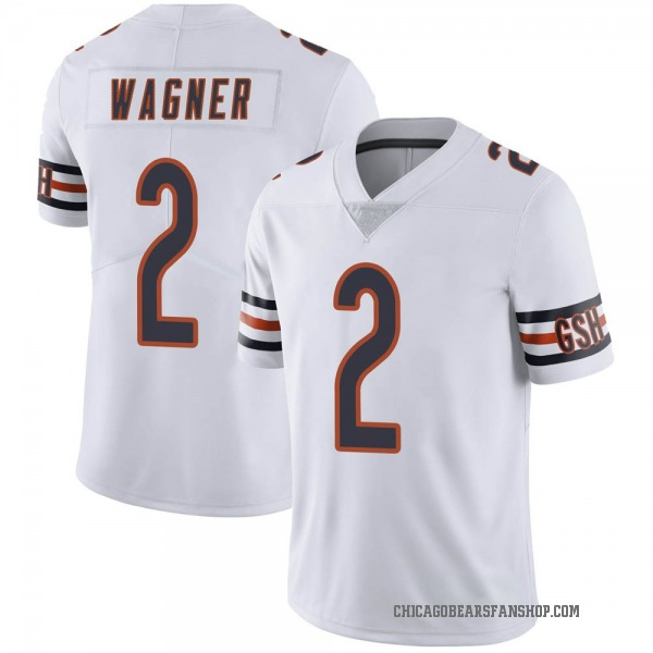 Men's Ahmad Wagner Chicago Bears Limited White Vapor Untouchable Jersey