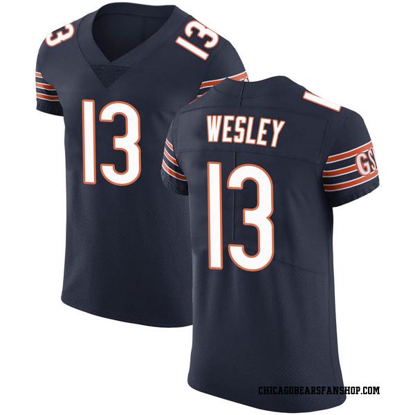 Men's Alex Wesley Chicago Bears Elite Navy Team Color Vapor Untouchable Jersey