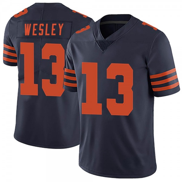 Men's Alex Wesley Chicago Bears Limited Navy Blue Alternate Vapor Untouchable Jersey