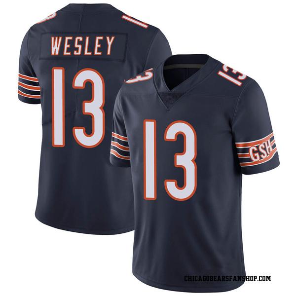 Men's Alex Wesley Chicago Bears Limited Navy Team Color Vapor Untouchable Jersey