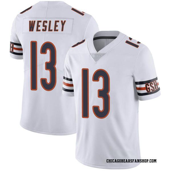 Men's Alex Wesley Chicago Bears Limited White Vapor Untouchable Jersey
