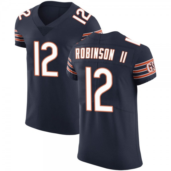 Men's Allen Robinson Chicago Bears Elite Navy Team Color Vapor Untouchable Jersey