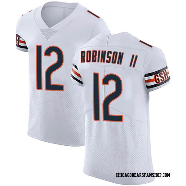 Men's Allen Robinson Chicago Bears Elite White Vapor Untouchable Jersey