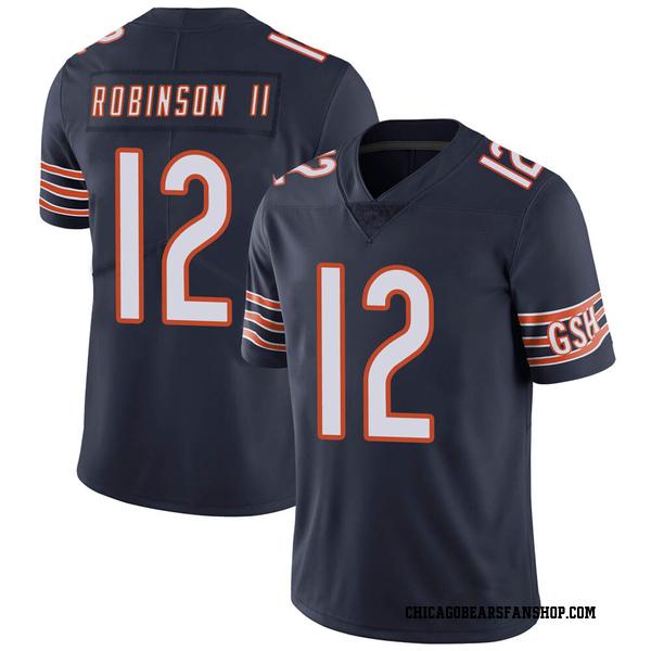 Men's Allen Robinson Chicago Bears Limited Navy Team Color Vapor Untouchable Jersey