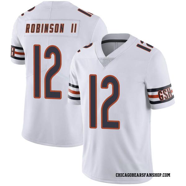 Men's Allen Robinson Chicago Bears Limited White Vapor Untouchable Jersey