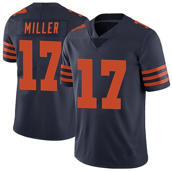 Men's Anthony Miller Chicago Bears Limited Navy Blue Alternate Vapor Untouchable Jersey
