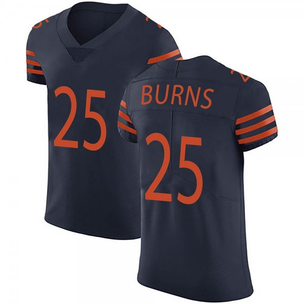 Men's Artie Burns Chicago Bears Elite Navy Blue Alternate Vapor Untouchable Jersey