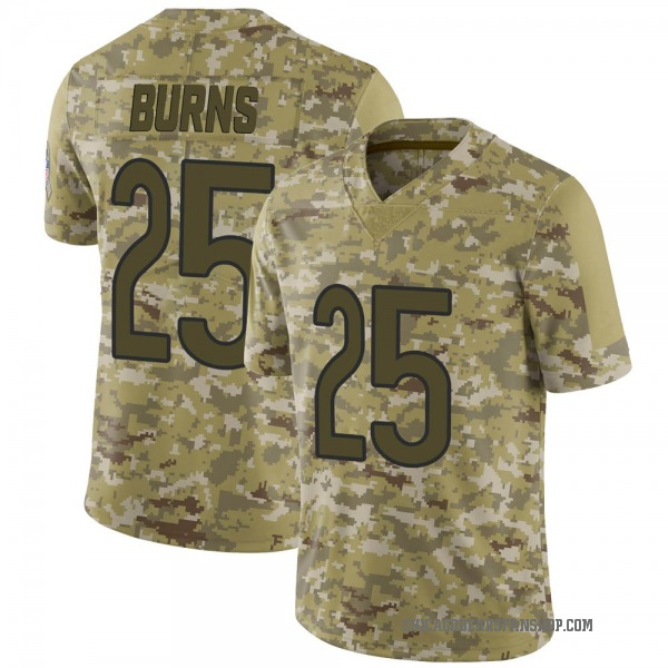 Men's Artie Burns Chicago Bears Limited Camo 2018 Salute to Service Jersey