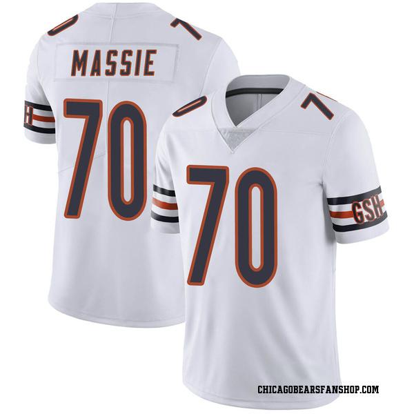Men's Bobby Massie Chicago Bears Limited White Vapor Untouchable Jersey