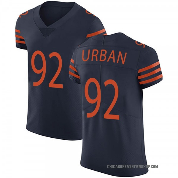 Men's Brent Urban Chicago Bears Elite Navy Blue Alternate Vapor Untouchable Jersey