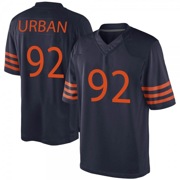 Men's Brent Urban Chicago Bears Game Navy Blue Alternate Jersey