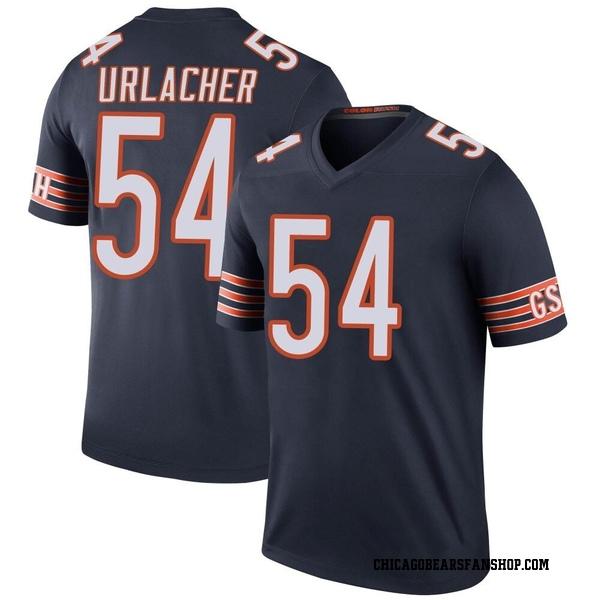 Men's Brian Urlacher Chicago Bears Legend Navy Color Rush Jersey