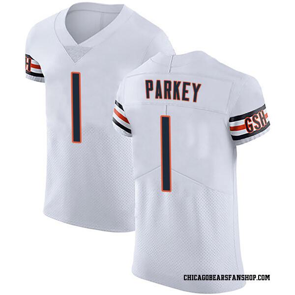 Men's Cody Parkey Chicago Bears Elite White Vapor Untouchable Jersey