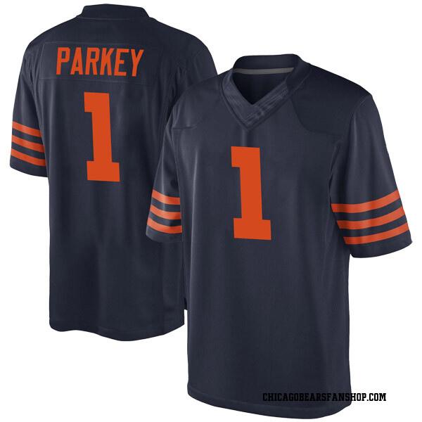 Men's Cody Parkey Chicago Bears Game Navy Blue Alternate Jersey