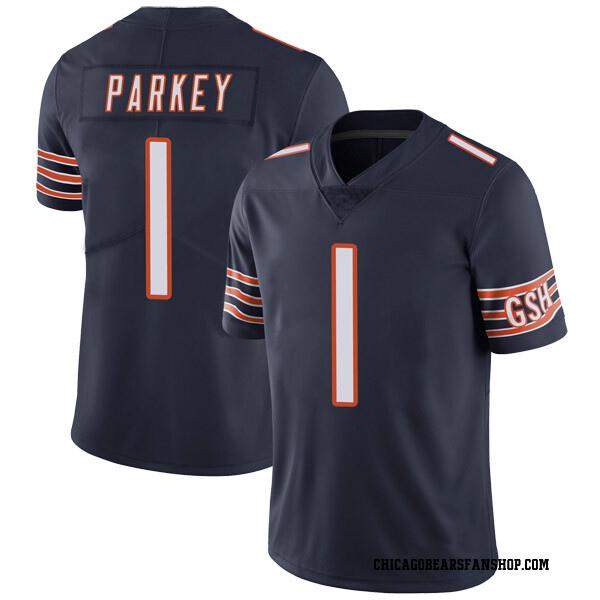 Men's Cody Parkey Chicago Bears Limited Navy Team Color Vapor Untouchable Jersey