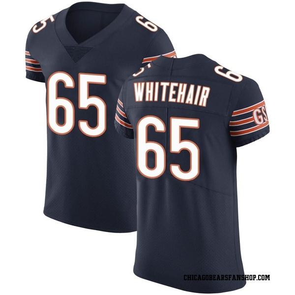 Men's Cody Whitehair Chicago Bears Elite Navy Team Color Vapor Untouchable Jersey