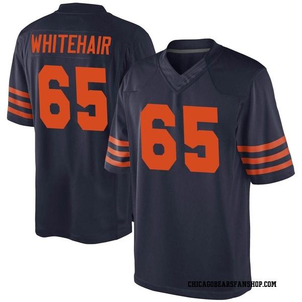 Men's Cody Whitehair Chicago Bears Game Navy Blue Alternate Jersey