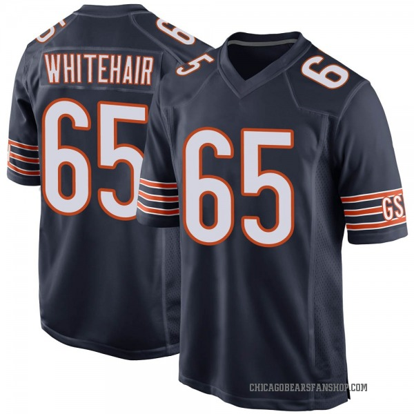 Men's Cody Whitehair Chicago Bears Game Navy Team Color Jersey