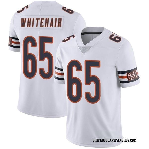 Men's Cody Whitehair Chicago Bears Limited White Vapor Untouchable Jersey