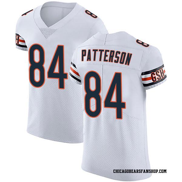 Men's Cordarrelle Patterson Chicago Bears Elite White Vapor Untouchable Jersey