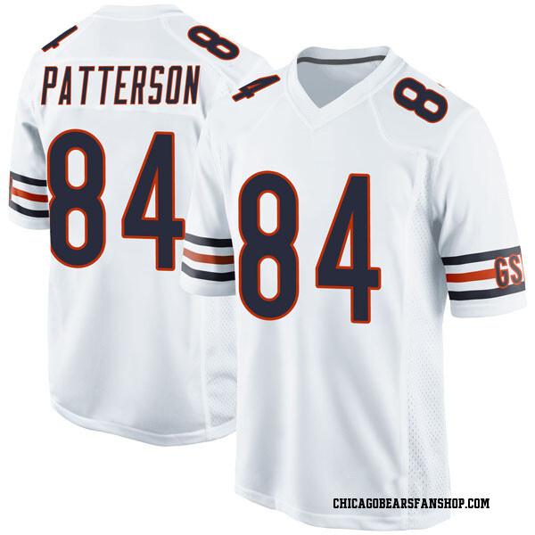 Men's Cordarrelle Patterson Chicago Bears Game White Jersey