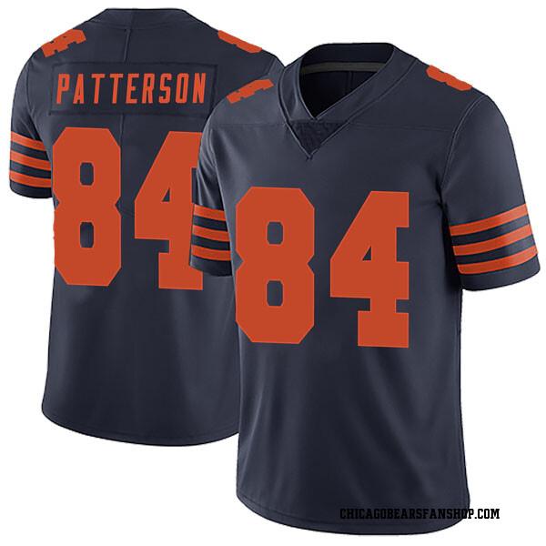 Men's Cordarrelle Patterson Chicago Bears Limited Navy Blue Alternate Vapor Untouchable Jersey