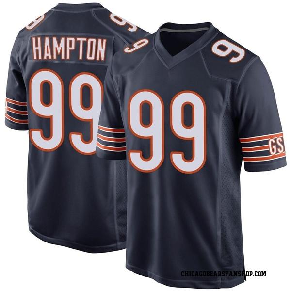 Men's Dan Hampton Chicago Bears Game Navy...
