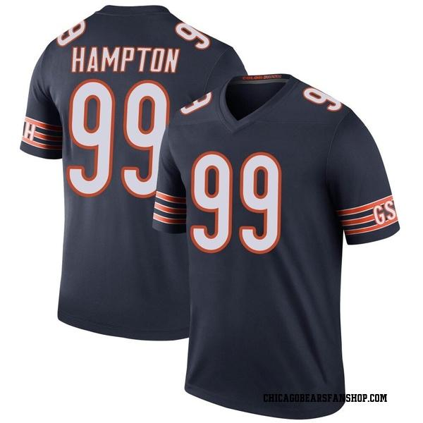 Men's Dan Hampton Chicago Bears Legend...