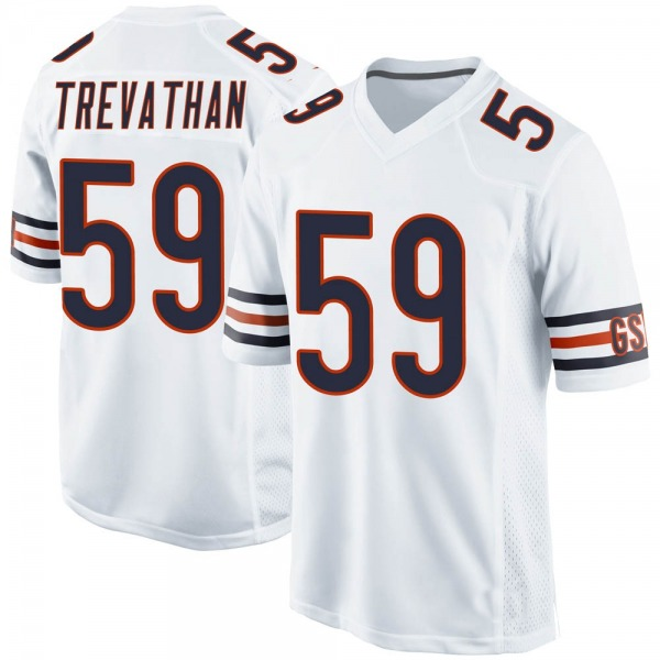 Men's Danny Trevathan Chicago Bears Game White Jersey