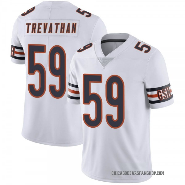 Men's Danny Trevathan Chicago Bears Limited White Vapor Untouchable Jersey