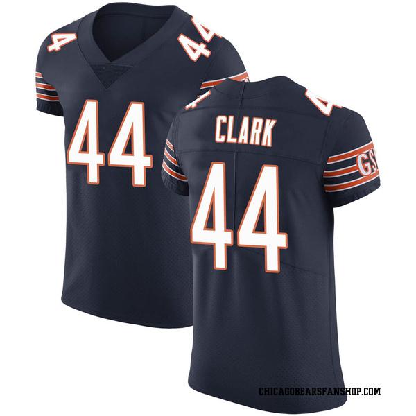 Men's Darion Clark Chicago Bears Elite Navy Team Color Vapor Untouchable Jersey
