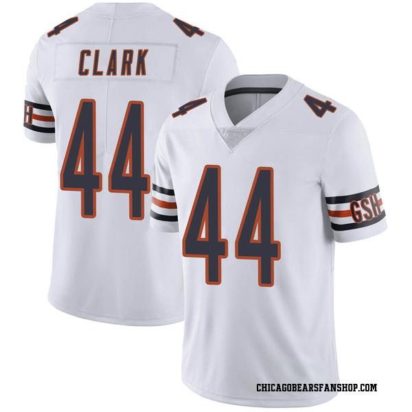 Men's Darion Clark Chicago Bears Limited White Vapor Untouchable Jersey