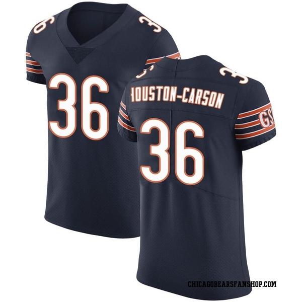 Men's DeAndre Houston-Carson Chicago Bears Elite Navy Team Color Vapor Untouchable Jersey