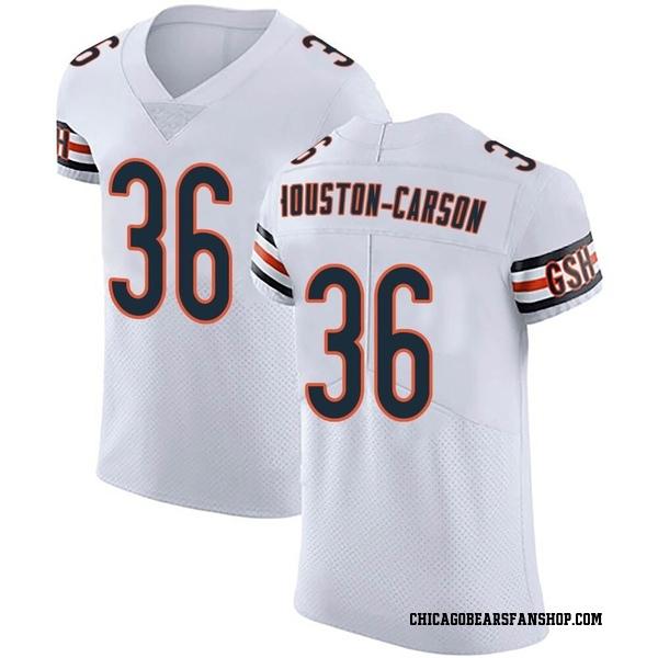 Men's DeAndre Houston-Carson Chicago Bears Elite White Vapor Untouchable Jersey