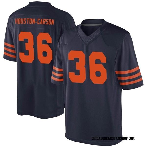 Men's DeAndre Houston-Carson Chicago Bears Game Navy Blue Alternate Jersey
