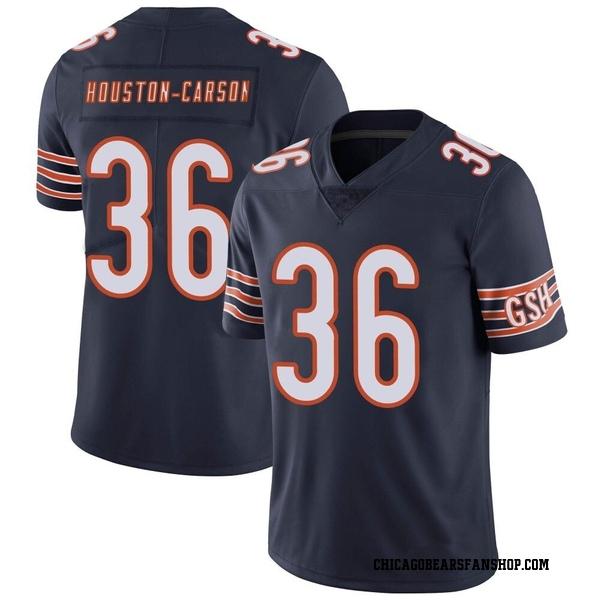Men's DeAndre Houston-Carson Chicago Bears Limited Navy Team Color Vapor Untouchable Jersey