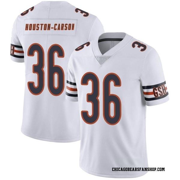 Men's DeAndre Houston-Carson Chicago Bears Limited White Vapor Untouchable Jersey