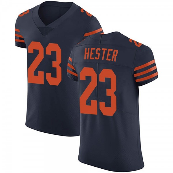 Men's Devin Hester Chicago Bears Elite Navy Blue Alternate Vapor Untouchable Jersey