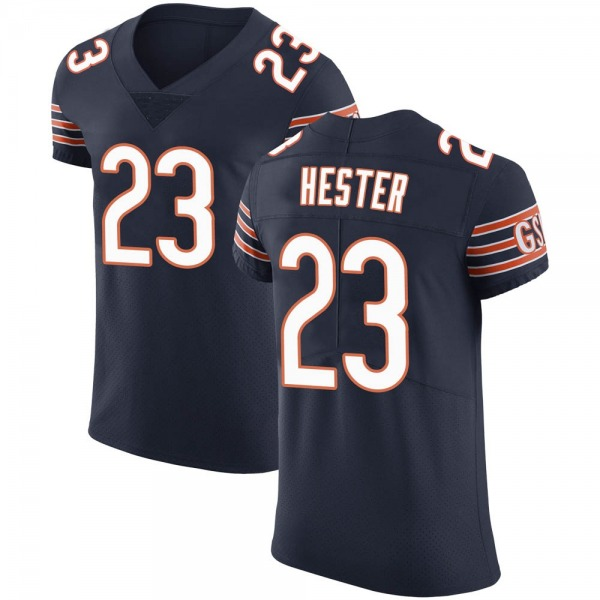Men's Devin Hester Chicago Bears Elite Navy Team Color Vapor Untouchable Jersey