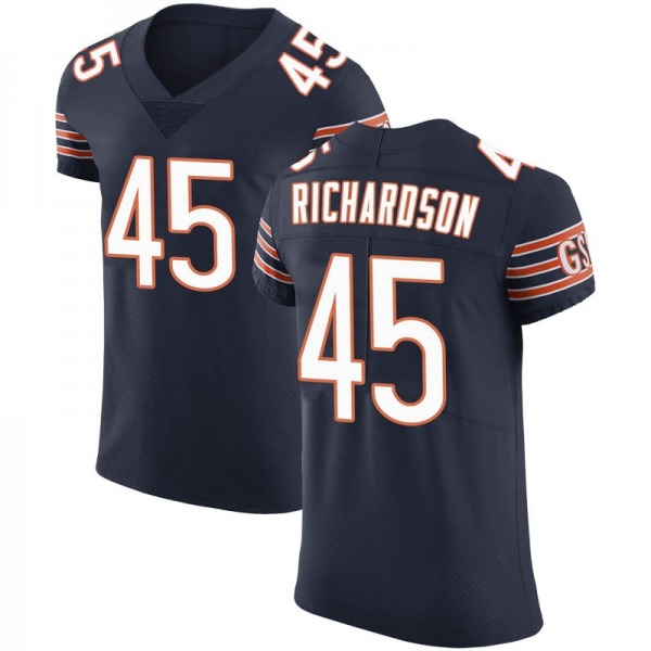 Men's Ellis Richardson Chicago Bears Elite Navy Team Color Vapor Untouchable Jersey