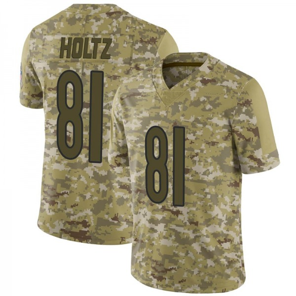 Men's J.P. Holtz Chicago Bears Limited Camo 2018 Salute to Service Jersey
