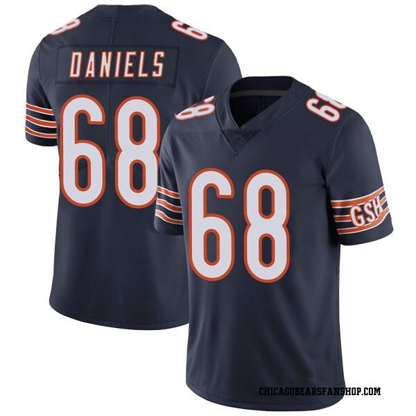 Men's James Daniels Chicago Bears Limited Navy Team Color Vapor Untouchable Jersey