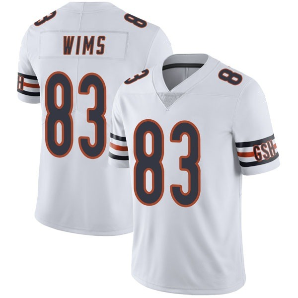 Men's Javon Wims Chicago Bears Limited White Vapor Untouchable Jersey