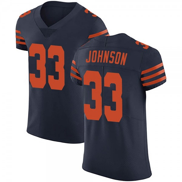 Men's Jaylon Johnson Chicago Bears Elite Navy Blue Alternate Vapor Untouchable Jersey